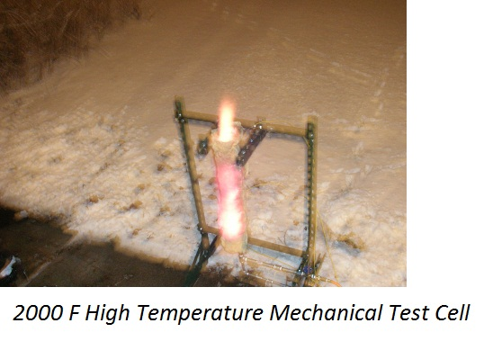 High Temperature  Mechanical Test Cell