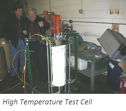 High Temperature Test Cell