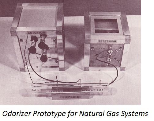 Odorizer Prototype For Natural Gas Systems