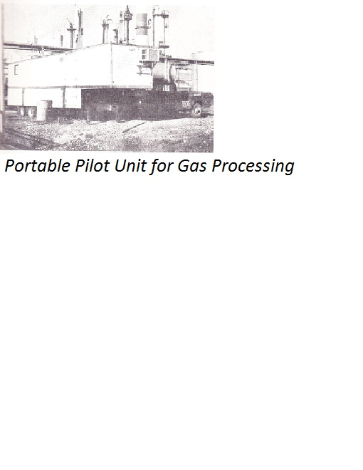 Portable Pilot Unit for Gas Processing
